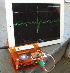 Spiker box is shown.