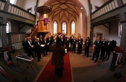 Image shows a choral group.