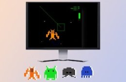 Image shows aliens in a video game.