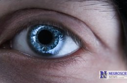 Image of a woman's eye.