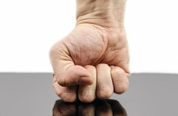 Image of a fist.