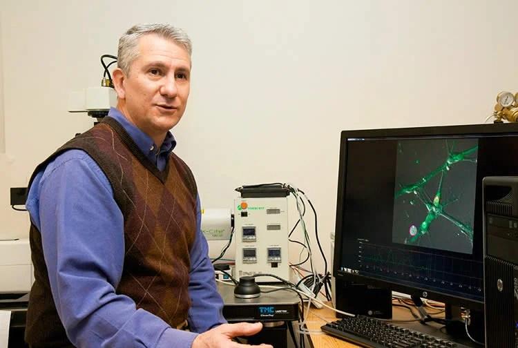 Image shows Dr. Mario Romero-Ortega.