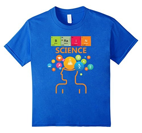 Brain science t shirt periodic table geek by zany brainy 1995 urtaz Images