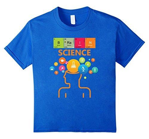 Brain Science T Shirt Periodic Table Geek By Zany Brainy