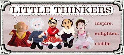 The Unemployed Philosophers Guild Leonardo Da Vinci Little Thinker Plush Doll
