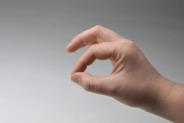 Image shows a hand.