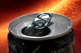 Image shows an energy drink can top.