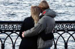 Image shows a couple.