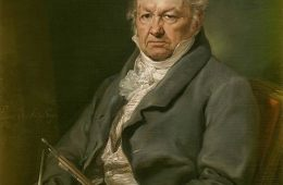Image shows a painting of Goya.