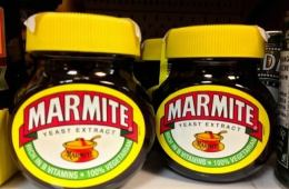 Image shows a tub of marmite.