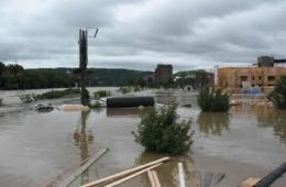 Image shows a flood.