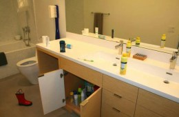A bathroom is shown.