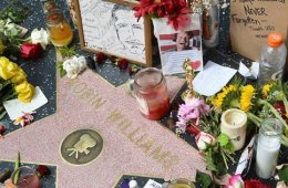 robin williams hollywood walk of fame star