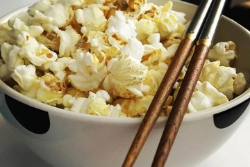 popcorn and chopsticks