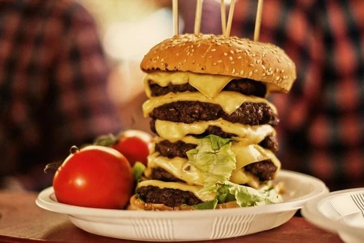 a monster burger