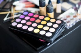 eye shadow, lipstick and other cosmetic products