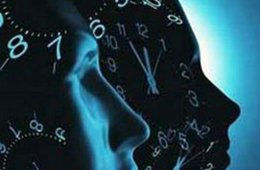 heads with clocks on them