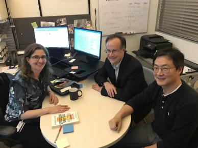 The team of ASU researchers (left to right) Rosa Krajmalnik-Brown, James Adams, and Dae Wook Kang were inspired to explore the gut-brain connection as it relates to autism symptoms and gastrointestinal issues. Credit University of Arizona.