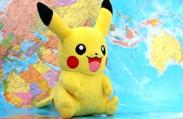 This is the pokemon character pikachu