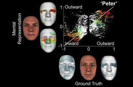 This shows how the model reconstructs a face