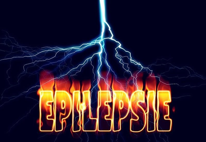 This is a sign that says epilepsy