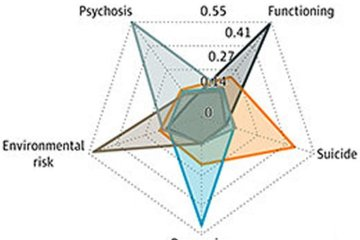 This is a diagram of the subtypes of psychosis