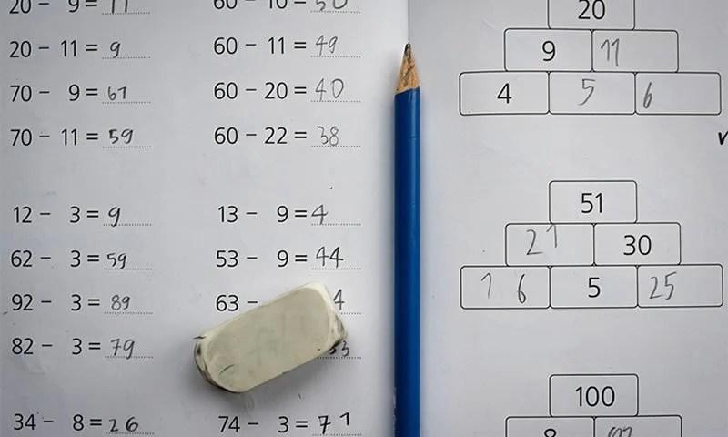 Math In The Brain - cover
