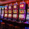 This shows slot machines