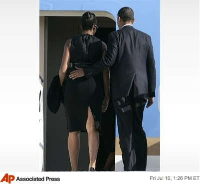 Obama Leaves Italy