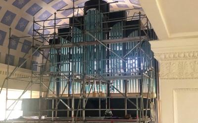 Die neue Orgel von St. Nicolai erhält ein Gesicht