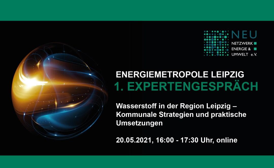 1. Expertengespräch der Energiemetropole Leipzig