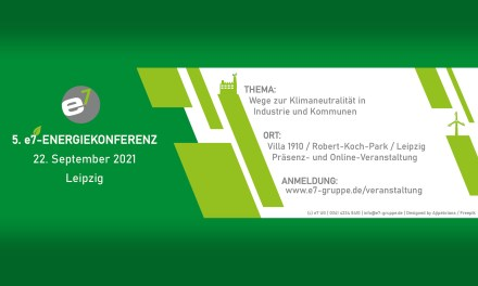5. e7-Energiekonferenz am 22. September