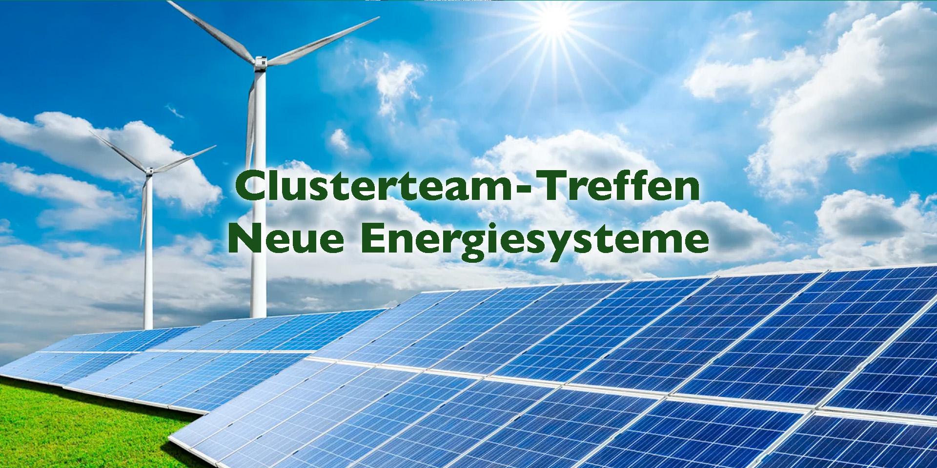 Clusterteam Neue Energiesysteme