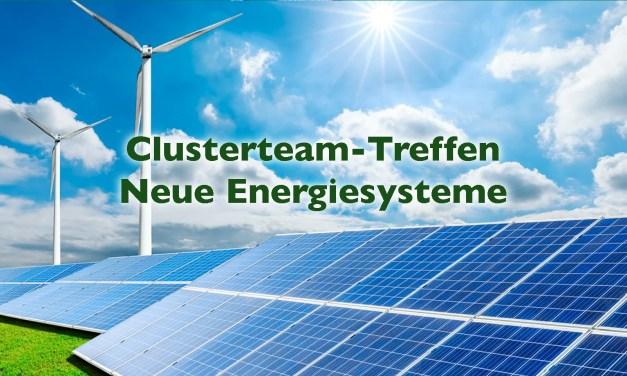 Clusterteam-Treffen Neue Energiesysteme