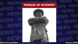 NOPD names Robert E Lee a Person of Interest