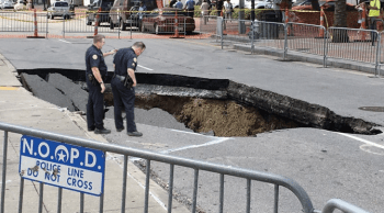 Remains of Mayor Landrieu's legacy found at bottom of Canal Street sinkhole