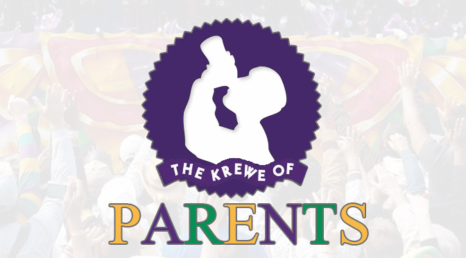 New Krewe of Parents parade to throw tons of crap they want out of the house