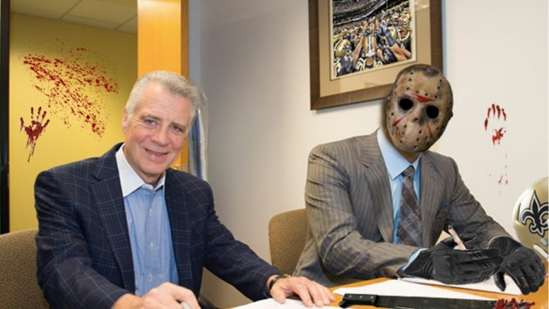 New Orleans Saints make killer move for defense, sign free agent playmaker Jason Voorhees