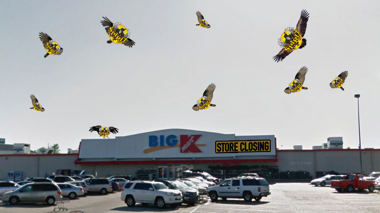 Spirit Halloween, an annual pop-up store for Halloween costumes, accessories, decorations, and groups of bored teenagers who will annoy the ever-living crap out of you, is now open inside the remains of a barely cold New Orleans area Kmart.