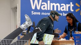 New Orleans Saints seen returning an injured Dez Bryant to Walmart
