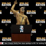 New Orleans Saints Who Dat Nation apology to Roger Goodell, NFL