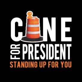New presidential poll finds New Orleans vastly favor sentient network of construction cones as candidate of choice - New Orleans news - Neutral Ground News - Donald Trump - Joe Biden