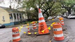 Sewerage & Water Board suspends giant construction cone for working too hard - New Orleans news - Neutral Ground News