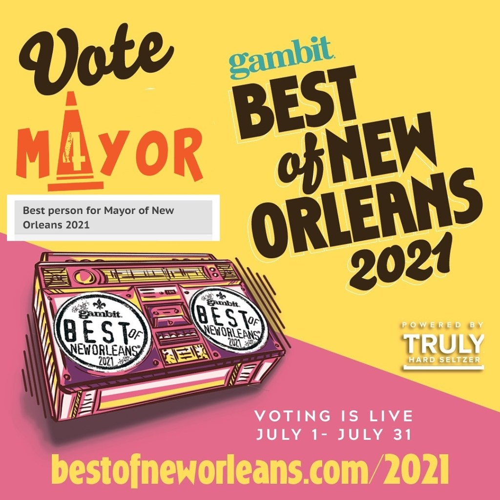Vote Giant Cone for Mayor of New Orleans - Gambit's Best of New Orleans 2021