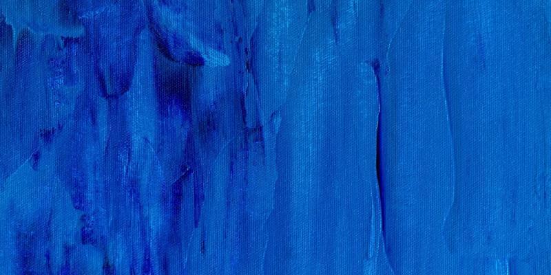 Misty blue paint color on wall - Neutrino Burst