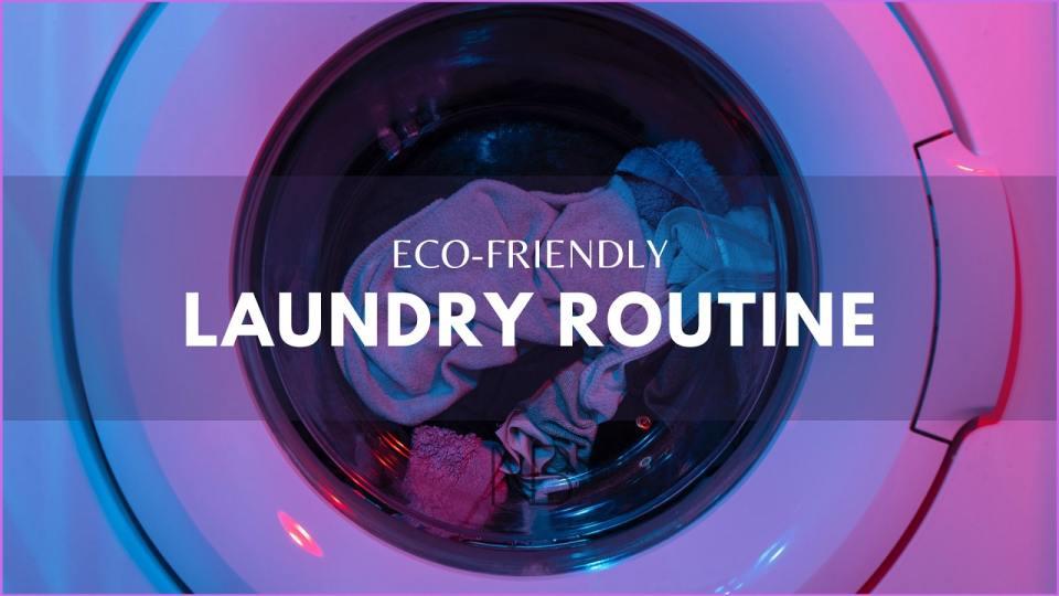 Eco-friendly laundry routine - Neutrino Burst!