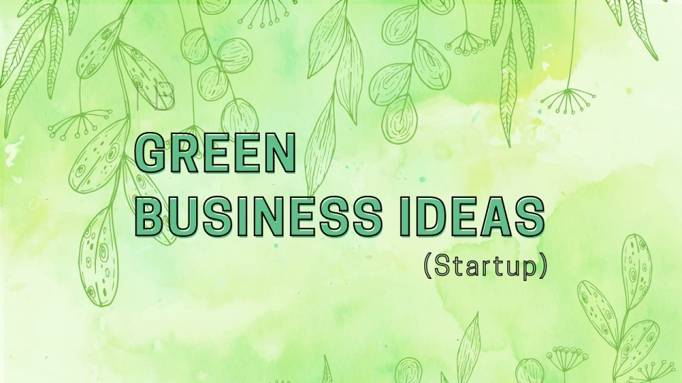 Green business ideas - Neutrino Burst