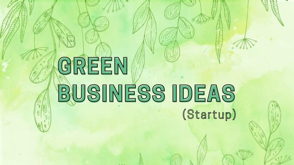 Green business ideas - Neutrino Burst