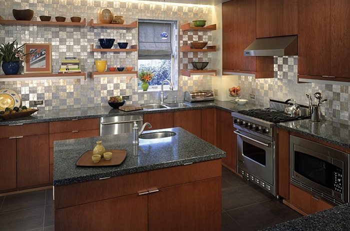 Alkemi polyester kitchen countertop