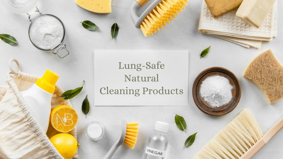 Homemade lung-safe cleaning products - Neutrino Burst!